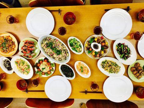 常備菜ビュッフェオンザテーブル 横